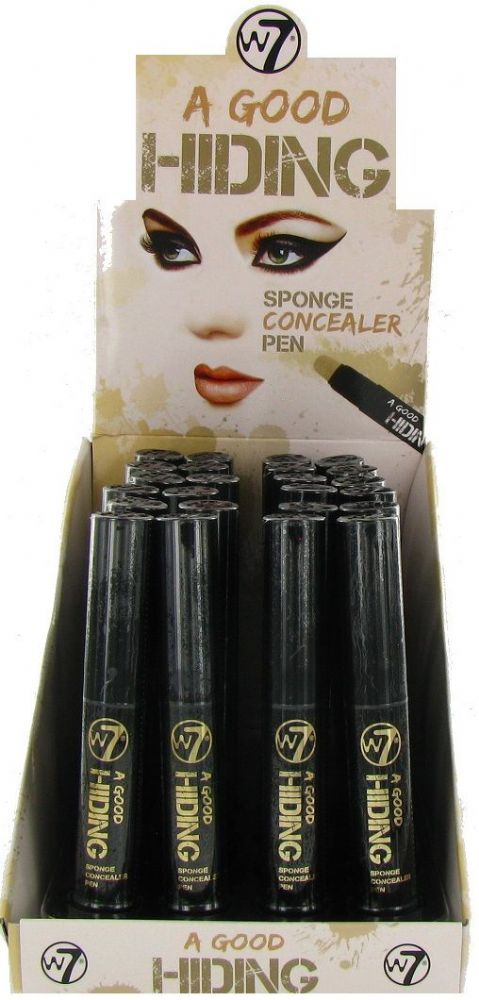 W7 A Good Hiding Sponge Concealer Pen 1x24